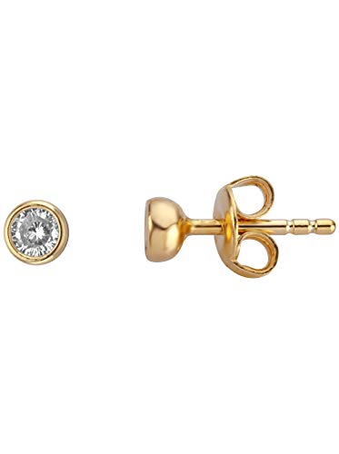 Ohrringe ESER00841400 Damen Spark Earrings Gold weiß