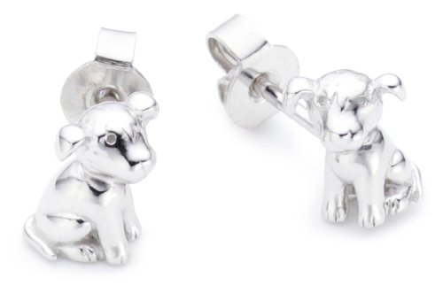 Kinder Ohrstecker 925 Sterlingsilber frisky dog S.ESER90998A